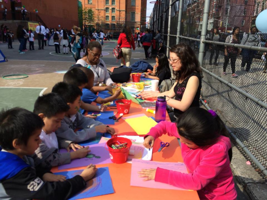 The celebration of El Dia del Niño, organized by the parent group as a way of to celebrate the kids and their culture after finishing the state exams for the year.